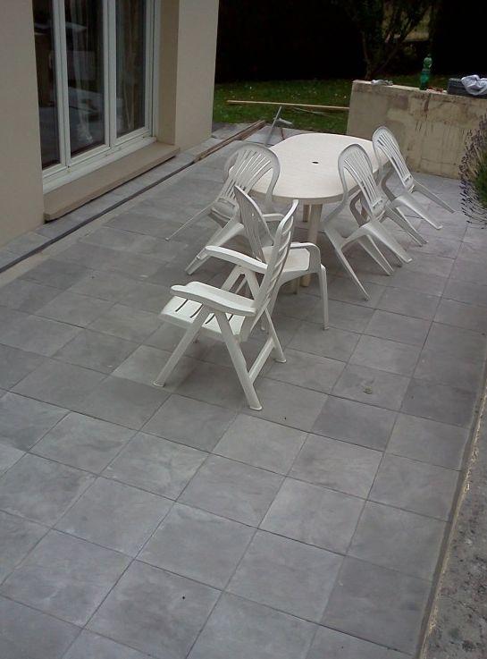 La terrasse après